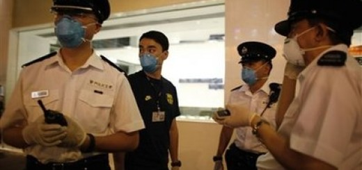 APTOPIX Hong Kong Swine Flu