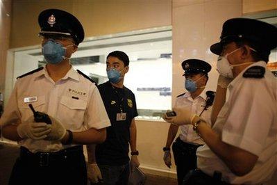 APTOPIX Hong Kong Swine Flu