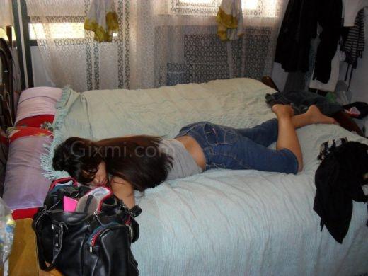 Desi hidden Sleeping girl