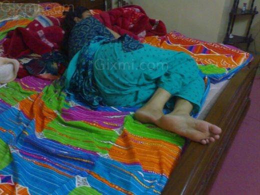 Sleeping desi girl hidden share